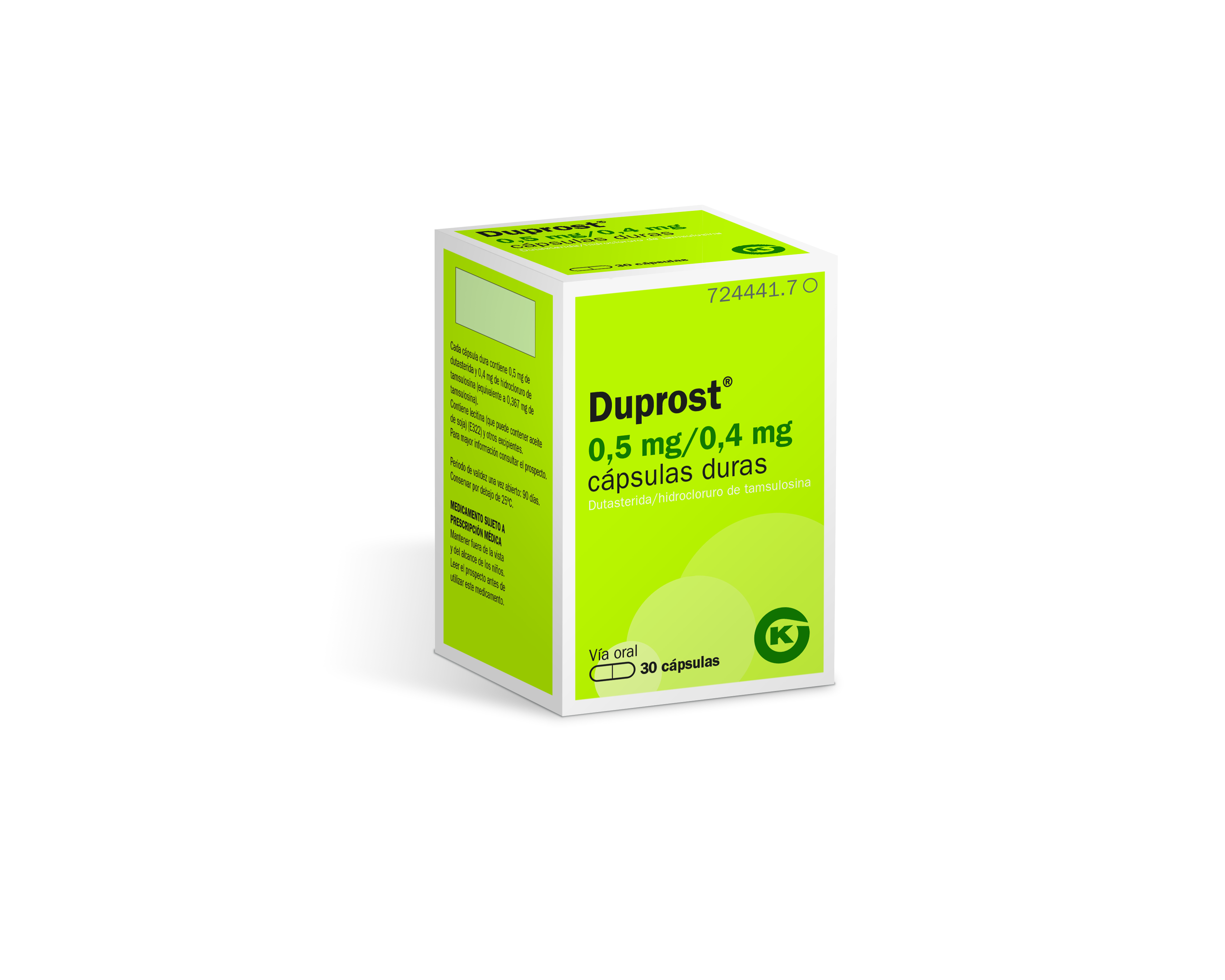 Duprost 0 5 mg equals how many ml