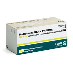 Metformina kern pharma 850 mg para adelgazar