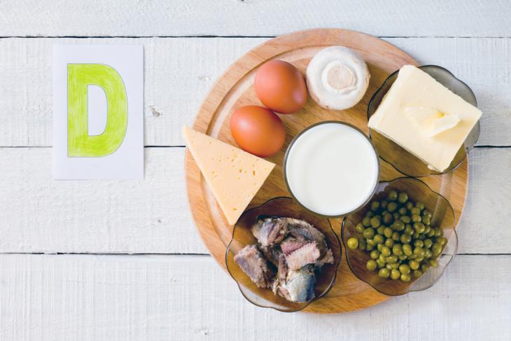 que alimentos son ricos en vitamina d y calcio
