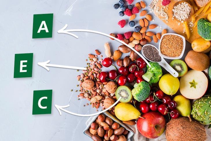 Vitaminas A, C y E: imprescindibles para nuestra salud | Kern Pharma