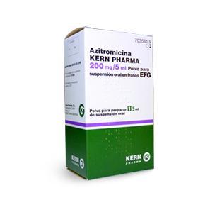 Azitromicina Kern Pharma Efg 200 Mg 5 Ml 30 Ml