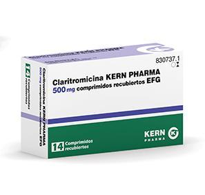 Claritromicina Kern Pharma Efg 500 Mg 14 Compr Recub