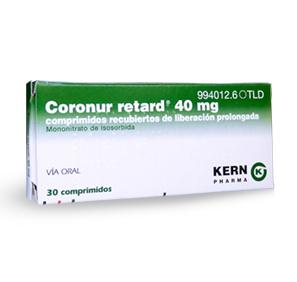 Coronur Retard 40 mg, 30 compr. liber. prolong